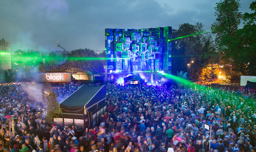 Genosys Block 9 | Glastonbury Festival | Projection Mapping with Igloo Vision | Adam Spring | Official Website