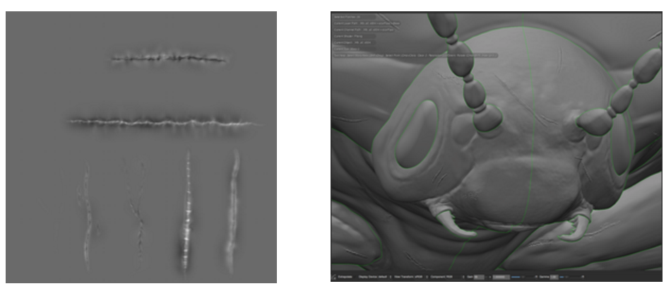 Multi-Tile Displacement Workflows with Mari & Arnold   Endomychidae Beetle   Adam Spring   Official Website