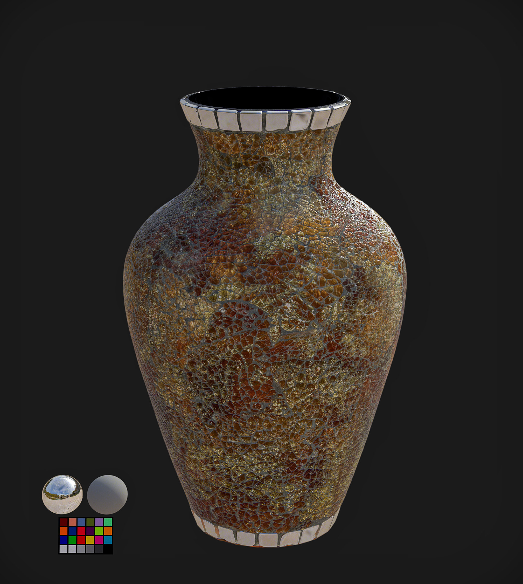 Mosaic Vase | Adam Spring | Official Website
