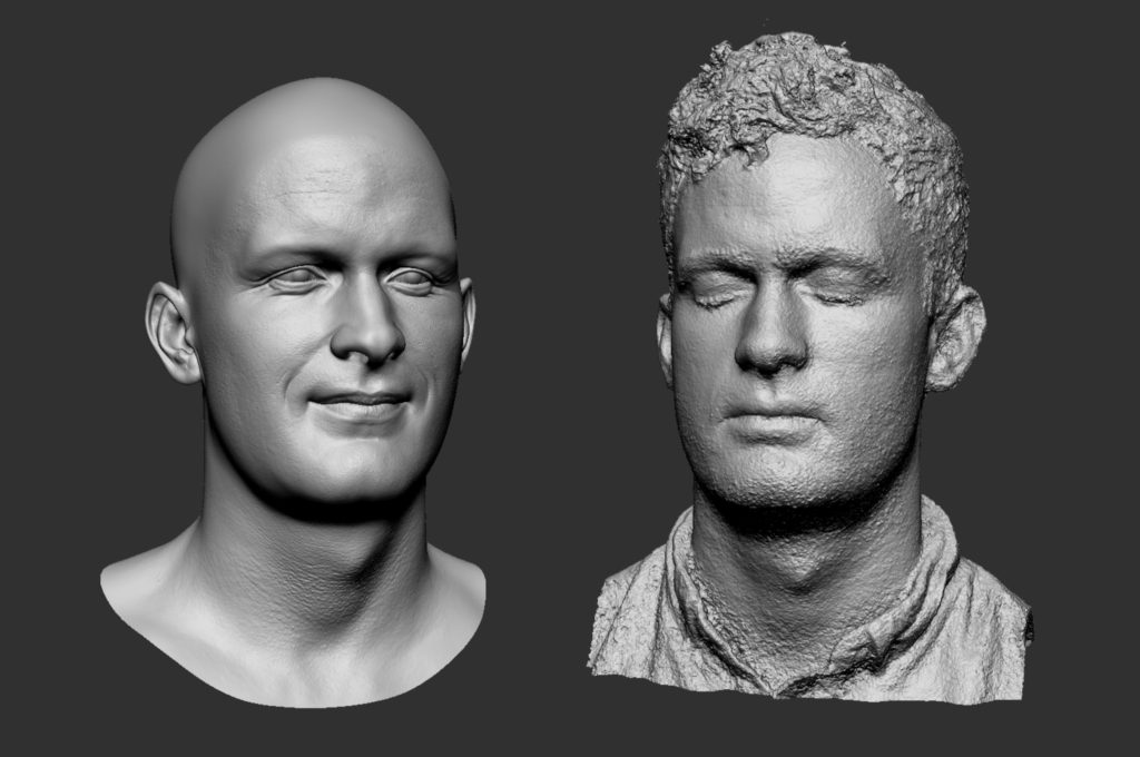 Head Scanning | 3D Portrait | Adam Spring | Official Website