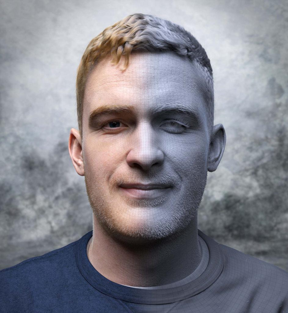 3D Portrait | Adam Spring | Official Website