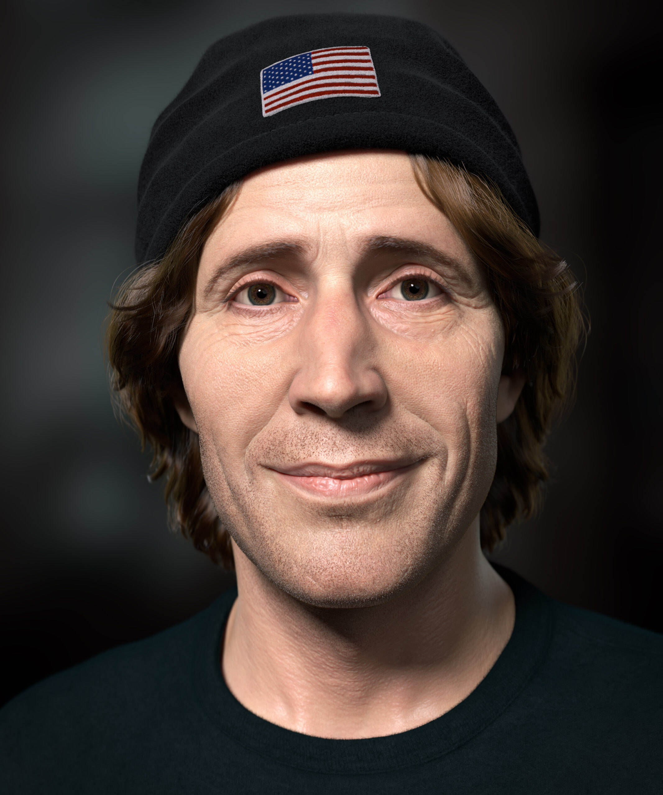 Rodney Mullen | 3D Portrait | Adam Spring Official Website